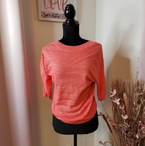 New York & Company Coral sweater